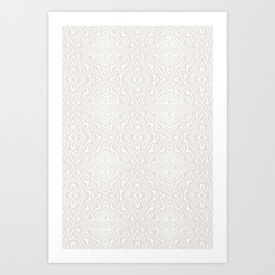 Abstract Pattern 06 Art Print