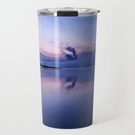 Tranquil blue nature Travel Mug