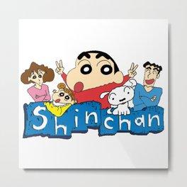 Shin Chan 2 Metal Print