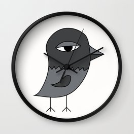 Big Eye Pigeon Wall Clock