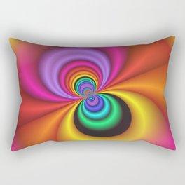 abstract spirals -1- Rectangular Pillow