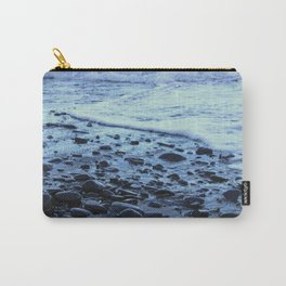Waves on the Beach Photography Print Carry-All Pouch