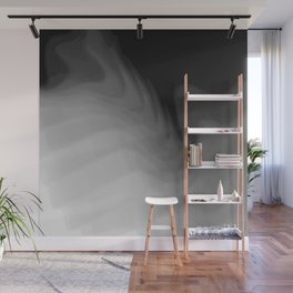 stacked shells, grays Wall Mural
