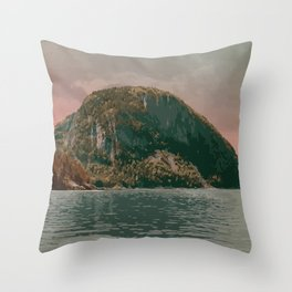 Terra Nova National Park Throw Pillow