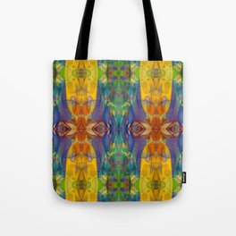 Blue Rainbow Tote Bag