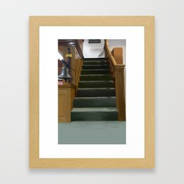 The Store Upstairs Clean version Framed Art Print