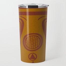 Legion Wakes Red and Brown Travel Mug