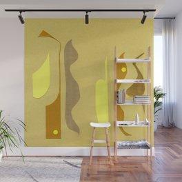 Yellow à gogo Wall Mural