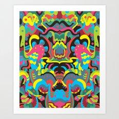 Reflections 4 Art Print