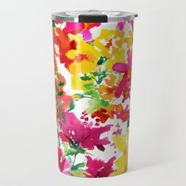 Lorrie's Garden Travel Mug