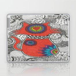 Kitty-tangle Laptop & iPad Skin