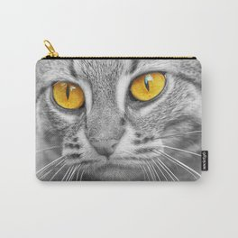 RUSTY SPOTTED CAT Carry-All Pouch