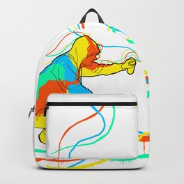 graffiti colors Backpack