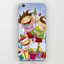 """Noviy god"" iPhone Skin"