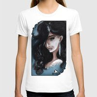 "edgar allan poe T-shirts featuring Edgar Allan Poe: Ligeia by Barbora ""Mad Alice"" Urbankova"