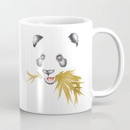Panda Bear & Bamboo - Gold Bamboo Coffee Mug