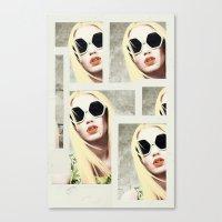 iggy azalea Canvas Prints featuring Iggy by Mari Vasilescu