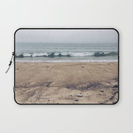Stormy Sycamore Beach Laptop Sleeve