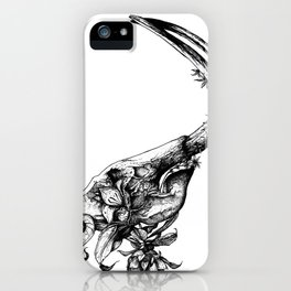 Prehistoric Bloom - The Mastodonte iPhone Case