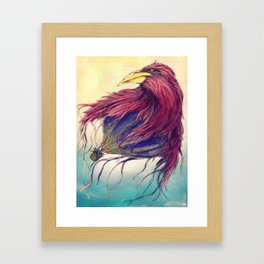 Who Said We Could Not Fly Away? Framed Art Print