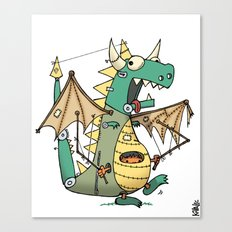 A Kobold in Dragon Clothing Canvas Print