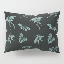 Jade Butterflies Pillow Sham