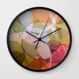 Abstract Composition 626 Wall Clock