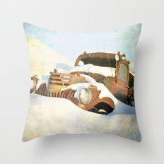 Drifter Throw Pillow
