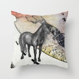 The End of Life Throw Pillow