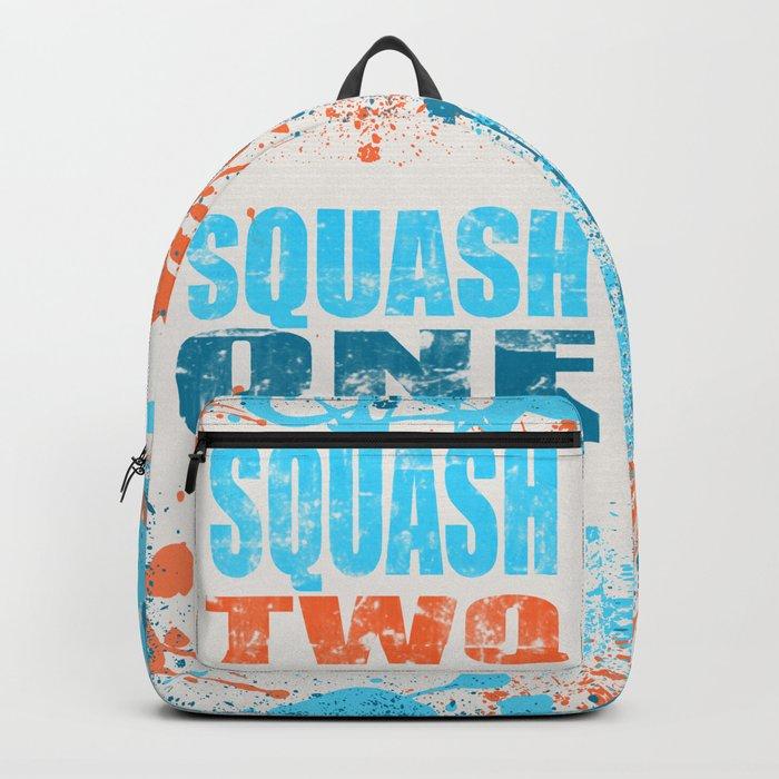 SQUASH ONE SQUASH TWO Backpack