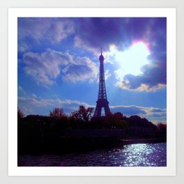 Eifel Tower Paris Art Print