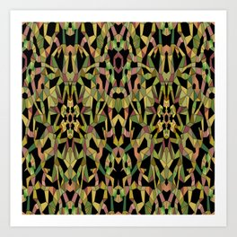 Origami Thicket, 2530h2 Art Print