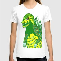 dino T-shirts featuring Dino by intermittentdreamscapes