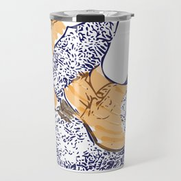 These boots are made for walking Travel Mug