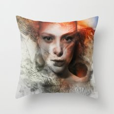 Mothcharmer Throw Pillow