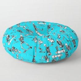 Grim Ripper BLUE Floor Pillow