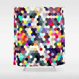 Honeycomb No. 1 Shower Curtain