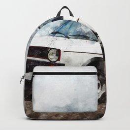 Golf I GTI White Backpack
