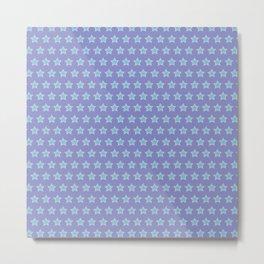 Absolom | Colorful Stars Pattern Metal Print