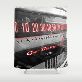 Go Baby Go Shower Curtain
