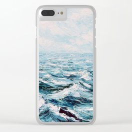 Into the Deep Clear iPhone Case