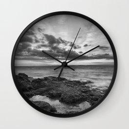 Clevedon Sunset Wall Clock