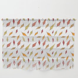 Autumn Leaves Pattern Wall Hanging
