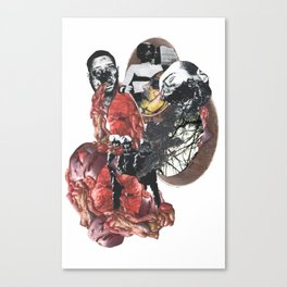 Conquered in Vomit Canvas Print