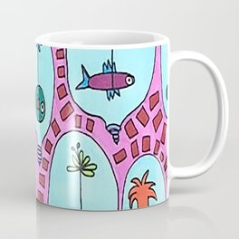 Fish Lamp-Bowl Coffee Mug