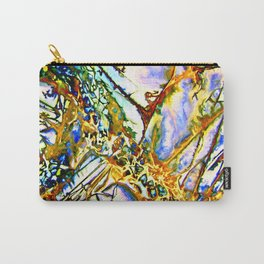 Opalesque Gemstones Abstract Carry-All Pouch