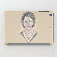 melissa smith iPad Cases featuring Melissa by Jeanzi