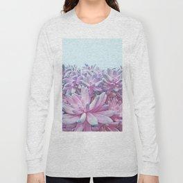 Sweet Succulents Long Sleeve T-shirt