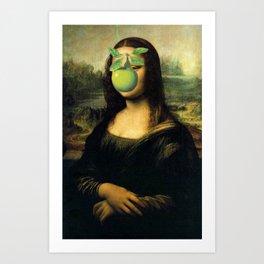 GIOCONDA MAGRITTE Art Print