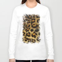 cheetah Long Sleeve T-shirts featuring Cheetah by Some_Designs